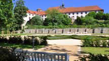 Knot Garden at Iburg Castle